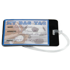 Luggage/Sport Bag Tags - 6 Pack