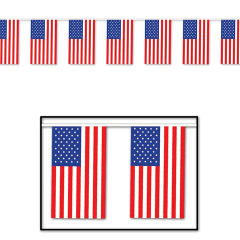 Picture of Banner American Flag Pennants