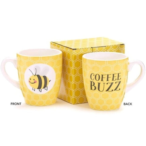 Picture of Bee Buzzed 14 oz. Ceramic Mug/Cup