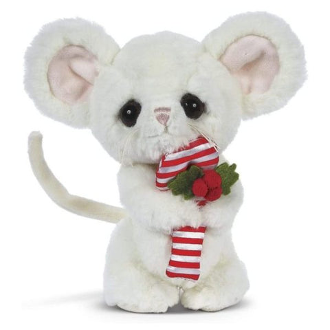 Picture of Big Head Pip the Christmas White Mouse
