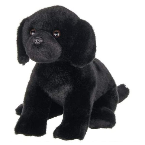 Picture of Black Labrador Plush Puppy Dog Chase