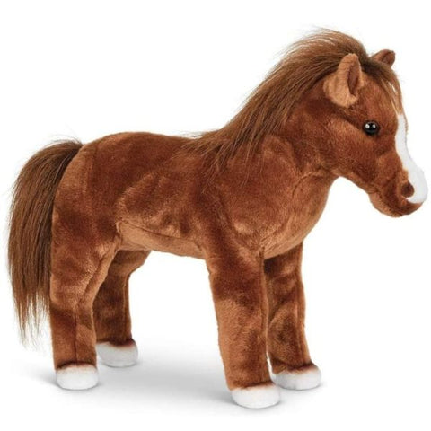 Picture of Blaze Plush Stuffed Brown Horse