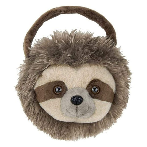 Picture of Brown Plush Sloth Purse Speedy Carrysome