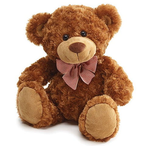 Picture of Brown Plush Steven Teddy Bears - 4 Pack