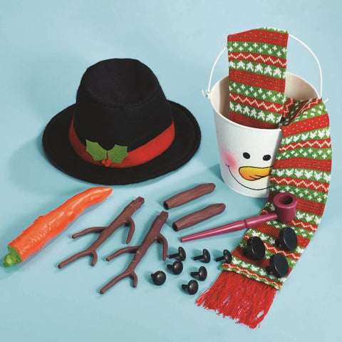 Picture of Build Your Own Snowman Kit - 20 pieces