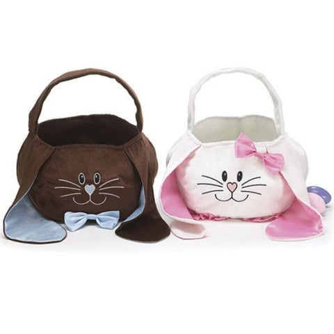 Picture of Bunny Face Basket Bag Set