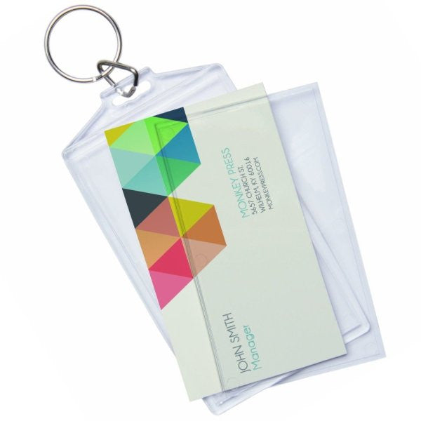 Snap in business card keychains 6 pack ellisi gifts snap in business card keychains 6 pack colourmoves