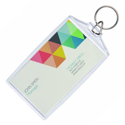 Snap in business card keychains 6 pack ellisi gifts sale picture of snap in business card keychains 6 pack colourmoves