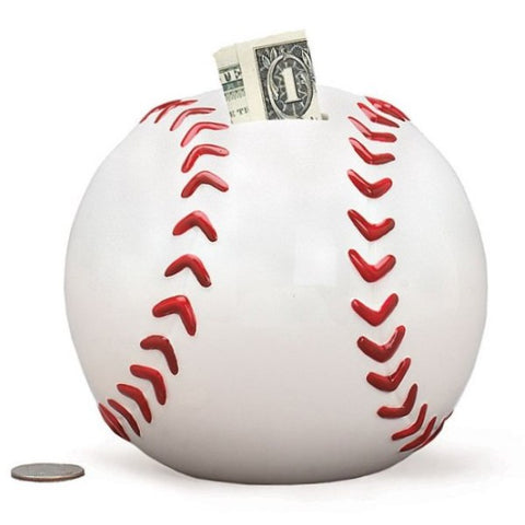 Picture of Ceramic Baseball Banks - 3 Pack