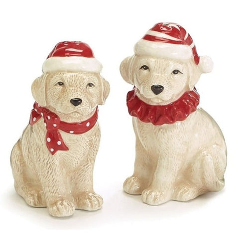 Picture of Christmas Dogs Salt and Pepper Shakers - Pack of 4 Sets
