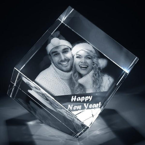Picture of Diamond Shaped 3D Photo Crystal
