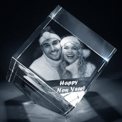 Diamond Shaped 3D Photo Crystal