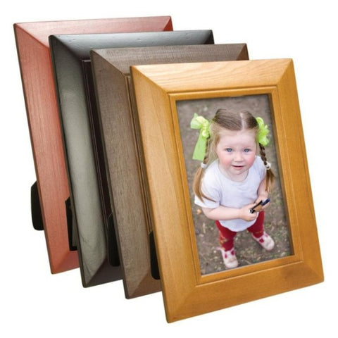 Picture of Classic Wood Picture Frames - 4 Pack