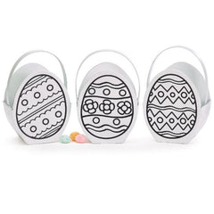 Color Your Own Paperboard Egg Boxes