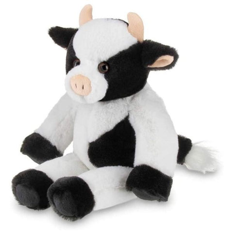 Picture of Cowlin Plush Stuffed Black and White Cow