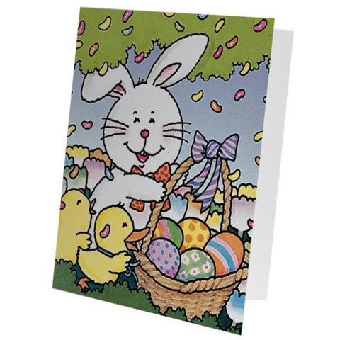 Picture of Easter Bunny Basket Photo Mount Folders - 12 Pack