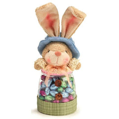 Easter Bunny Girl or Boy Candy Jar