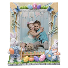 Easter Bunny Resin Picture Frame