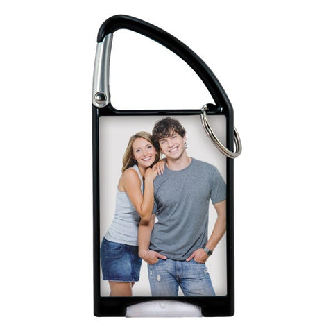 Picture of Flashlight Carabiner Photo Keychain