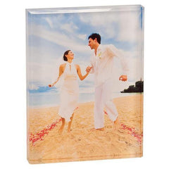 Beveled Acrylic Photo Blocks