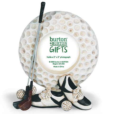Picture of Golf Ball Shaped Picture Frames - 3 Pack