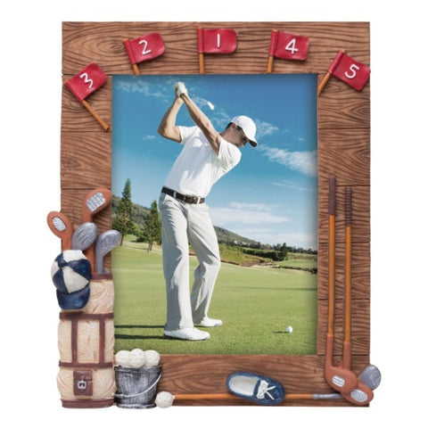 Picture of Golf Resin Picture Frame
