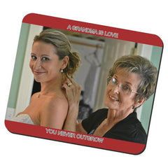 One Photo Fabric Mouse Pad