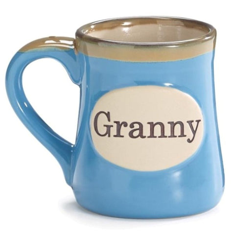 Picture of Granny/Message 18 oz. Porcelain Mugs - 4 Pack