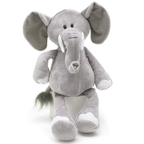 Picture of Gray Elephant Jungle Plush Animal - 6 Pack