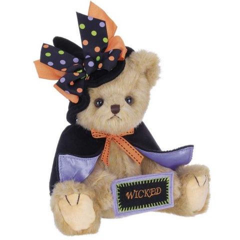 Picture of Halloween Witch Teddy Bear Tricky Nikki