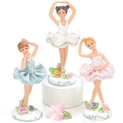 Hand-painted Resin Ballerina Figurines