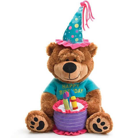 Picture of Happy Birthday Plush Bear