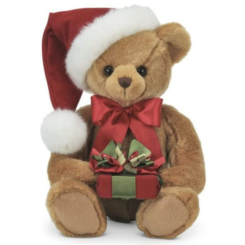 Picture of Holden Presents Christmas Teddy Bear in Santa Hat