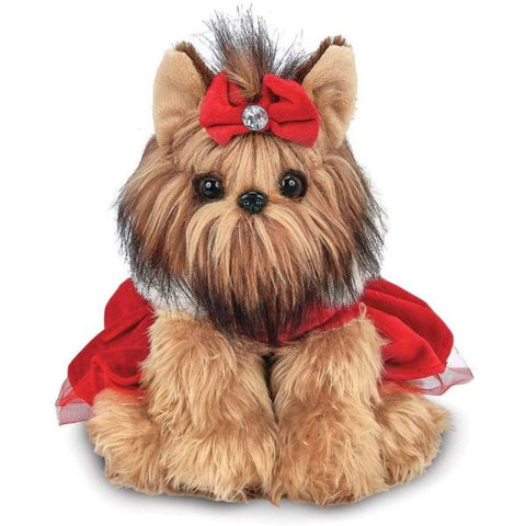 Picture of Holiday Plush Stuffed Yorkshire Terrier Dog Yuletide Yorkie