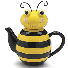 Honey Bumblebee Teapots - 2 Pack
