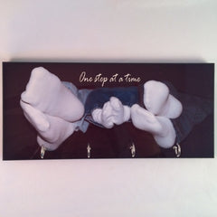Four Hooks Photo Key Hanger