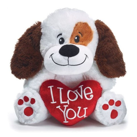Picture of I Love You Valentine's Plush Puppy - Pack of 4