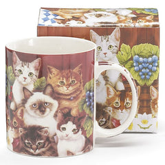 Kittens for Everyone 13 oz. Ceramic Mugs - 6 Pack