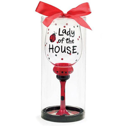 Picture of Lady of the House 16 oz. Wine Glass/Goblet