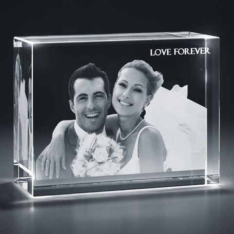 Picture of Rectangular Cuboid 3D Photo Crystal