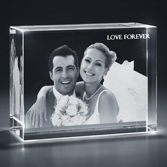 Rectangular Cuboid 3D Photo Crystal