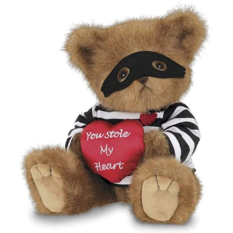 Picture of Lawless Lover Plush Stuffed Teddy Bear with Heart
