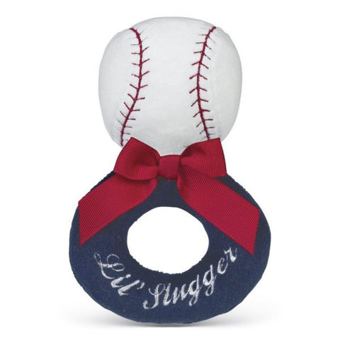 Picture of Lil' Slugger Baseball Soft Ring Rattles - 6 Pack