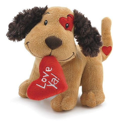 Picture of Love Ya Valentine's Plush Puppy Dogs - 4 Pack