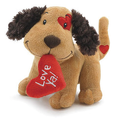 Love Ya Valentine's Plush Puppy Dog