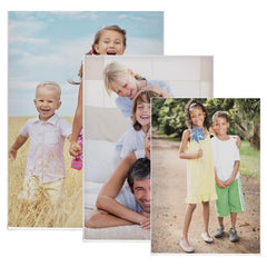 Magnetic Acrylic Fold-Over Picture Frame Set