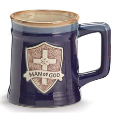 Man of God Porcelain Mugs - 4 Pack