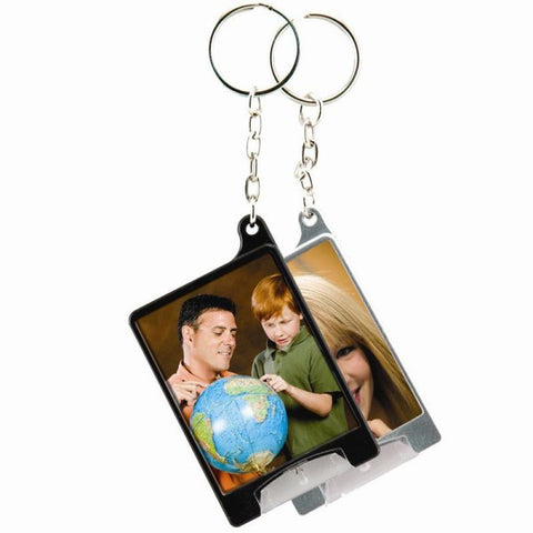 Picture of Mini Flashlight Photo Keychains - 2 Pack