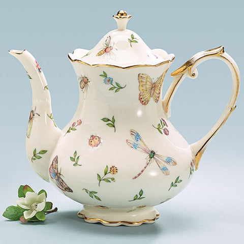 Picture of Morning Meadows Porcelain Teapots - 2 Pack