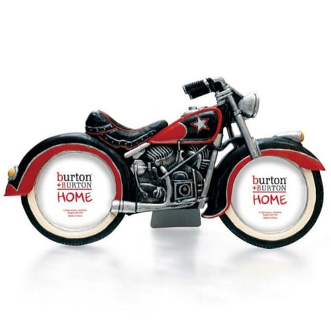Picture of Motorcycle Shaped Picture Frame